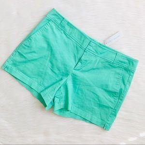 New York and Company green chino shorts